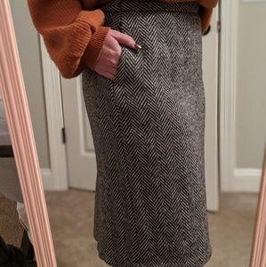 EUC E.H. WOODS vintage wool skirt